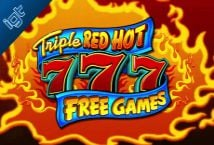 Triple Red Hot 7s Free Games