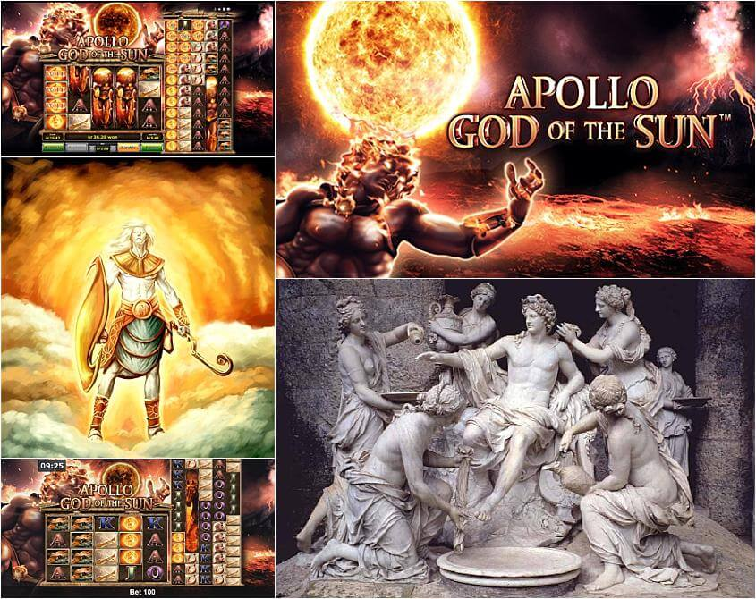 Apollo god of the sun slot machine online novomatic ultimate