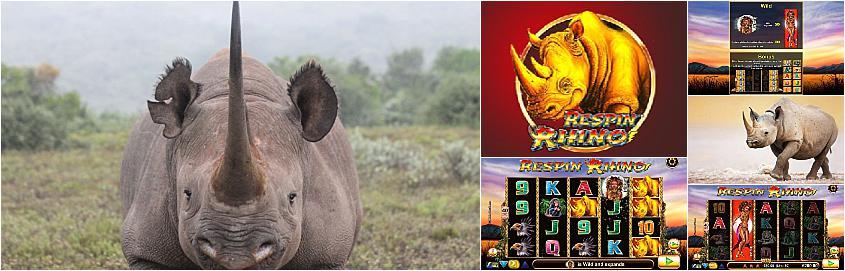 Respin Rhino Slot Machine